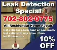 Swimming Pool Leak Detection Las Vegas Pool Leak Repair